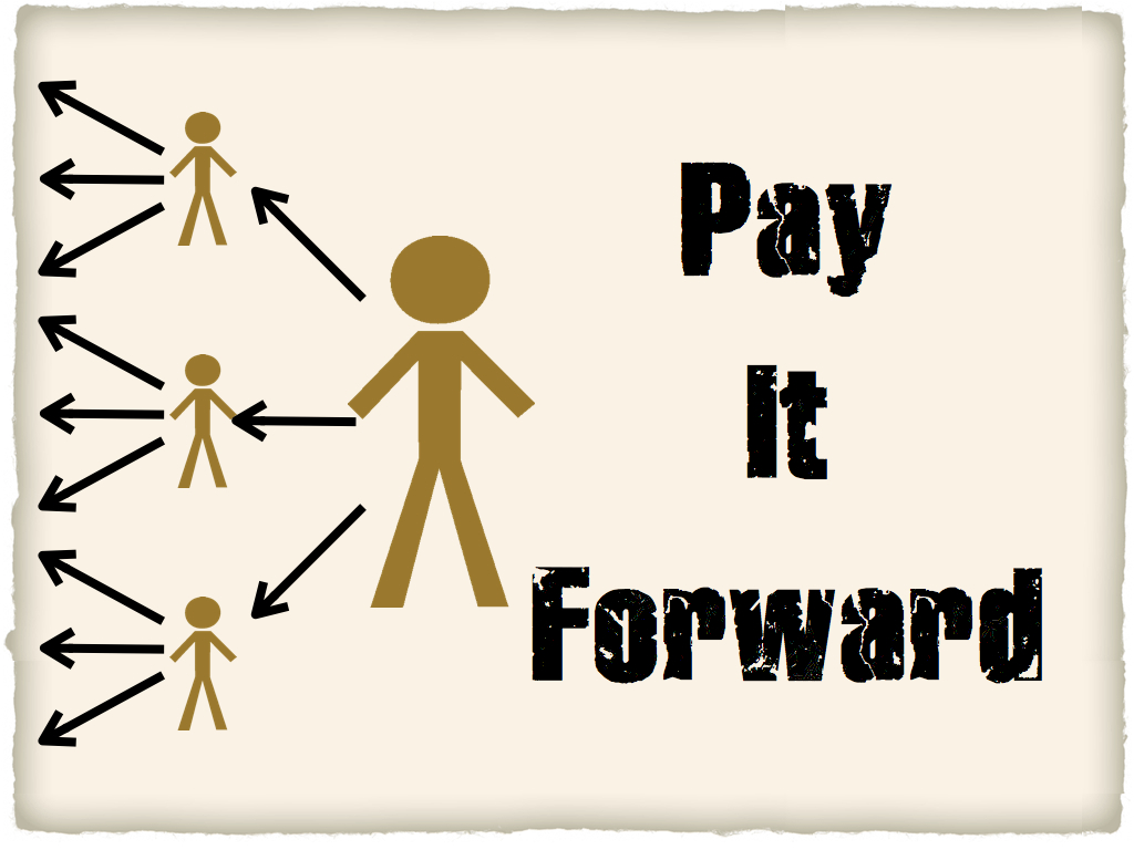 Pay it forward - Khushboo's Blog