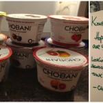 <b>Chobani taste test</b>