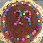 <b>Chocolate Chip Cookie Cake</b>