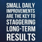 <b>Small changes leading to big results</b>