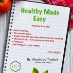 <b>Healthy Made Easy E-Book + Giveaway</b>