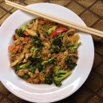 <b>Red Curried Brown Rice Stir Fry</b>