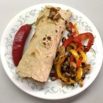 <b>Homemade burritos</b>
