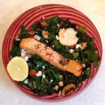 <b>Warm Kale &amp; Feta Salad</b>