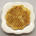 <b>Baby-Friendly Sweet Potato &amp; Cheddar Waffle</b>