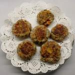 <b>Mushroom &amp; Parmesan Cutlets</b>