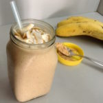 <b>Vegan PB &amp; Banana Smoothie</b>