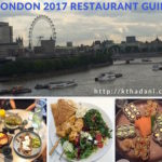 <b>London 2017 Restaurant Guide</b>