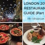 <b>London 2017 Restaurant Guide - Part 2</b>